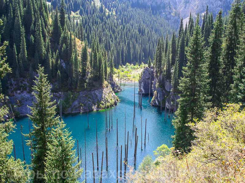Озеро Каинды.